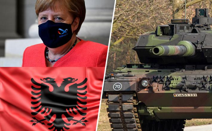 Angela Merkel razmišlja o prodaji tankov Kosovu