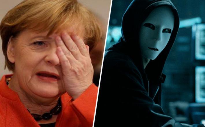 Angela Merkel in heker