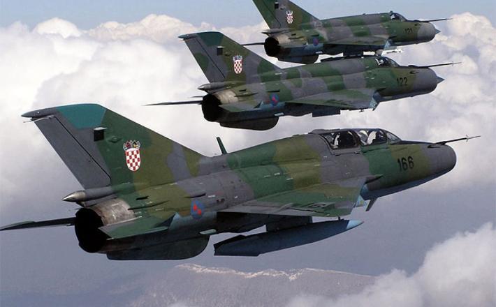 MiGi 21 Hrvaške vojske