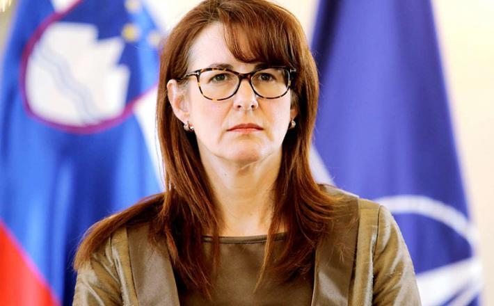 Ministrica za pravosodje Andreja Katič