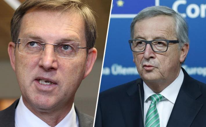 Miro Cerar in Jean Claude Juncker