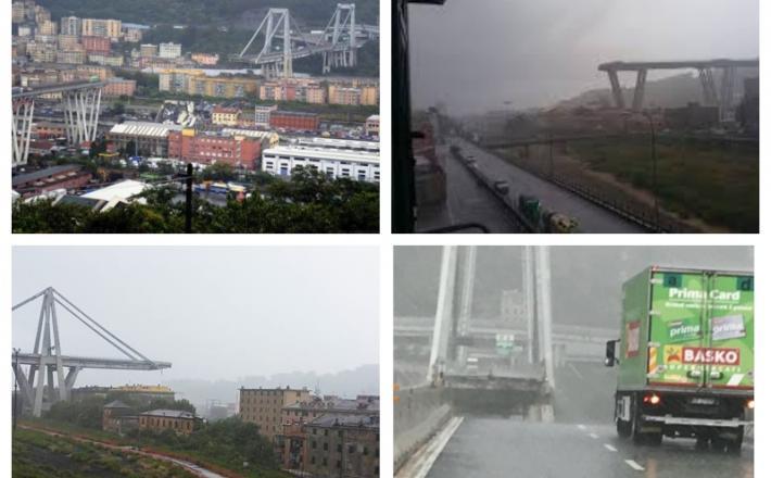 Most v Genovi, zrušen