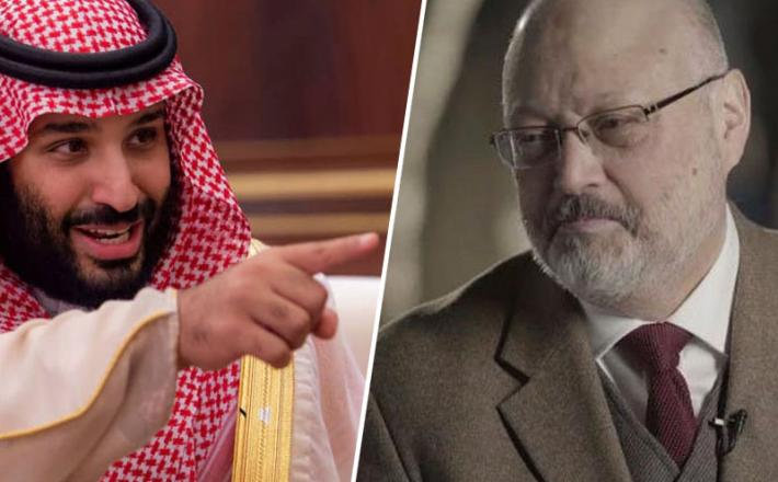 Mohammed bin Salman in umorjeni Džamal Hašodži