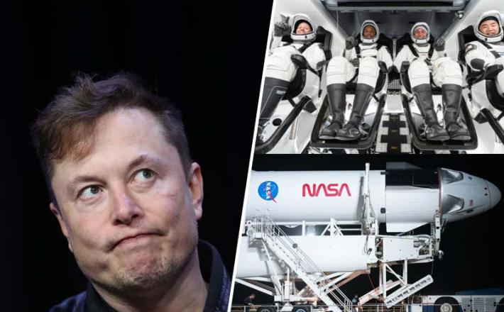 Musk, astronavti in SpaceX