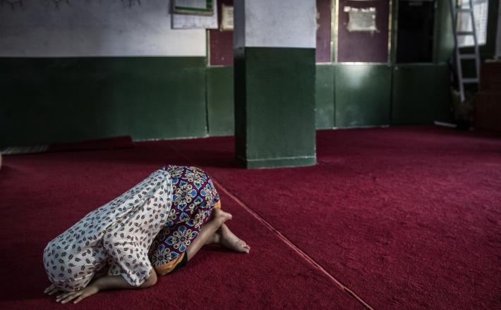 Muslimanka v Atenah, Grčija     Vir:Pixsell