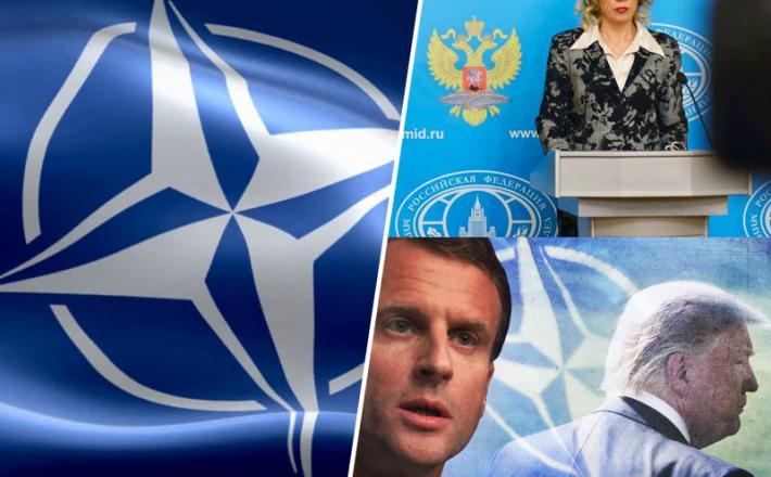 Nato, Macron in smrt zveze Nato