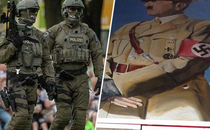 Nemška policija Sek - razpuščena zaradi poveličevanja nacizma