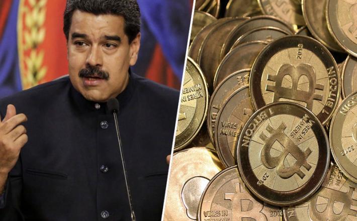 Nicolas Maduro / Bitcoin  / Petro
