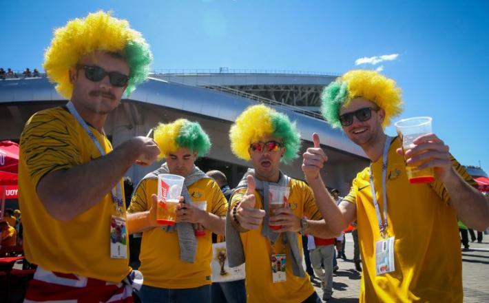 Nogometaši v Rusiji Vir:TASS