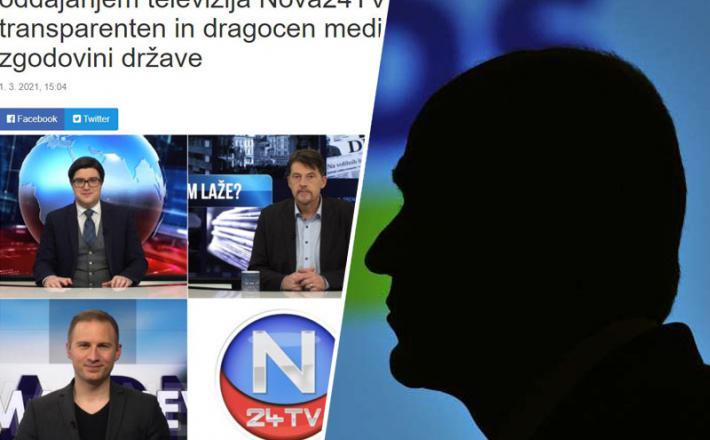 Nova24TV, njene laži in njihov mecen