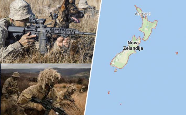 Nova Zelandija - vojaki