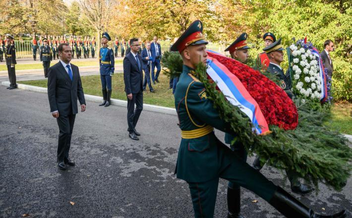 Šarec in delegacija v Rusiji