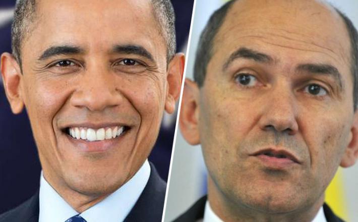 Obama je raztrgal argument Janše