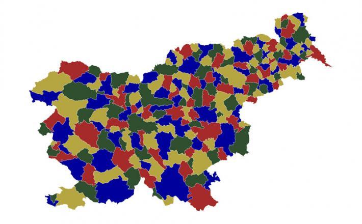 Občine Slovenija