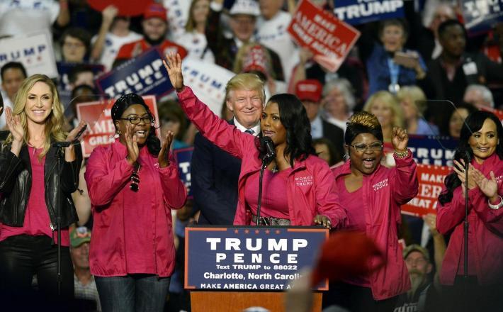 Omarosa in Trump - predsedniška kampanja 2016