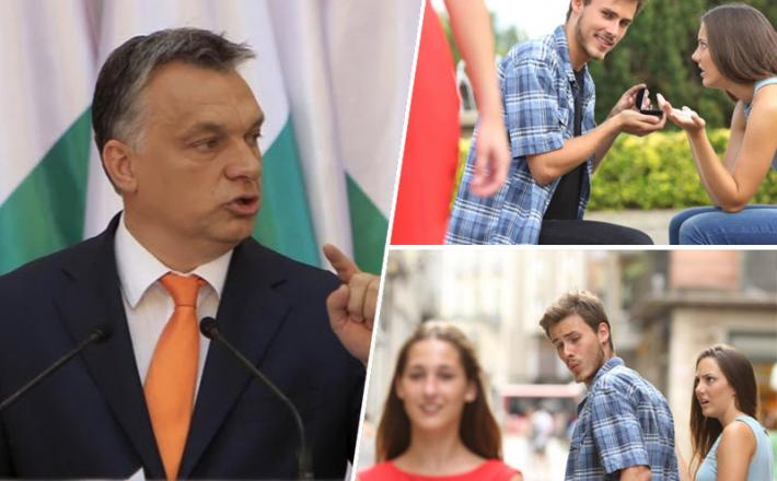 Orban, plakat