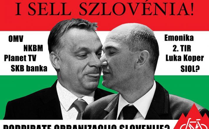 Tesna zaveznika, Orban in Janša