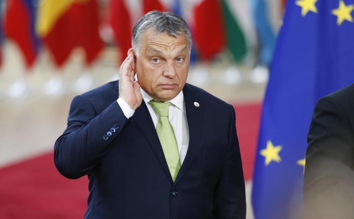 "Viktor Orban ""posluša""     Vir:Pixell"