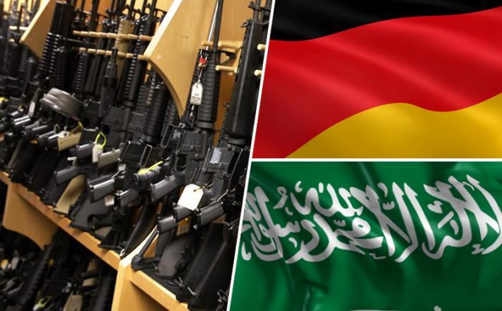 Orožje, Nemčija, Saudska Arabija