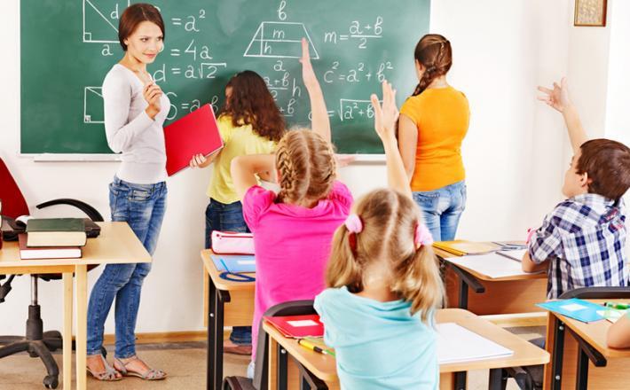 Otroci v razredu