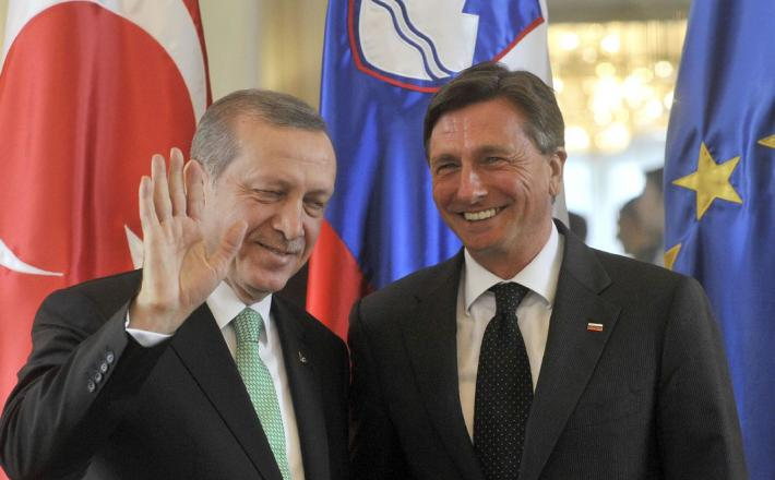 Pahor in Erdogan
