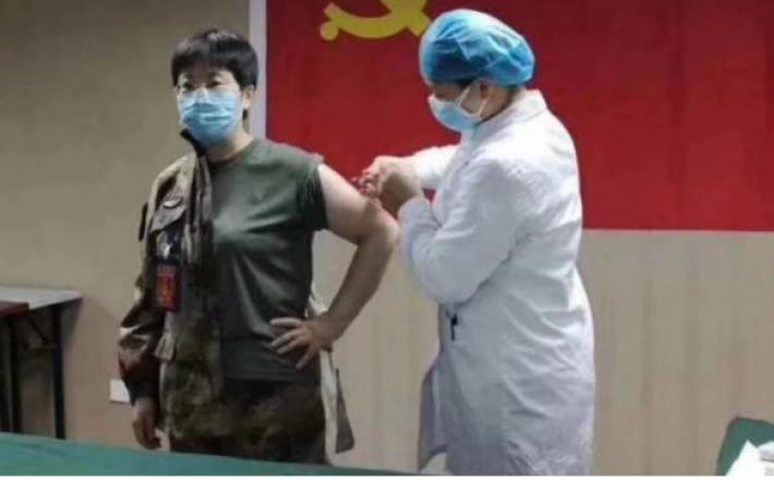 Poskusni vbrizg cepiva na Kitajskem