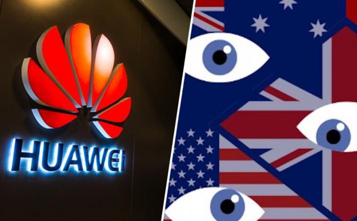 Huawei in pet očes