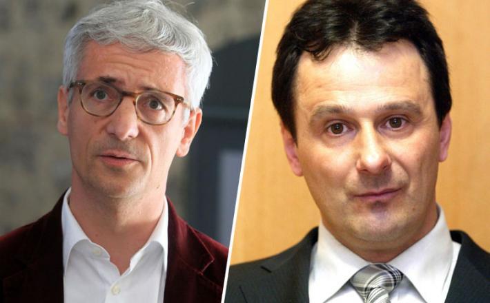 Jernej Pikalo in Tomaž Rozman