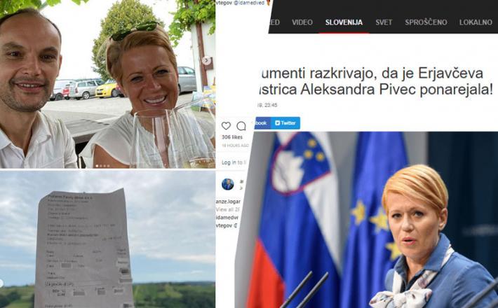 Aleksandra Pivec in Anže Logar - dva sponzoriranca