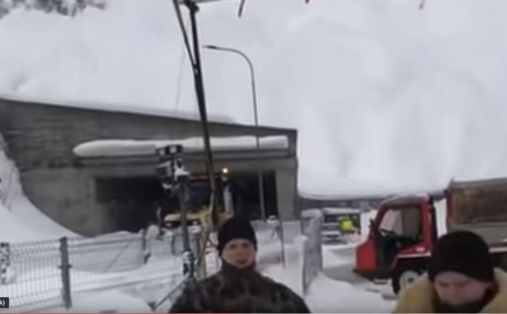 Plaz - švicarska vojska beži