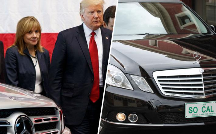 Trump - pogrebna vozila