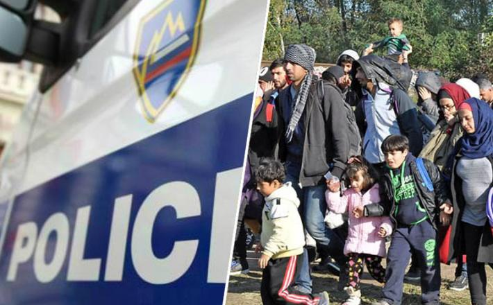 Policij in begunci