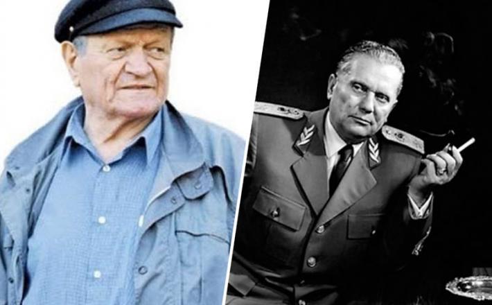 Popović in Tito