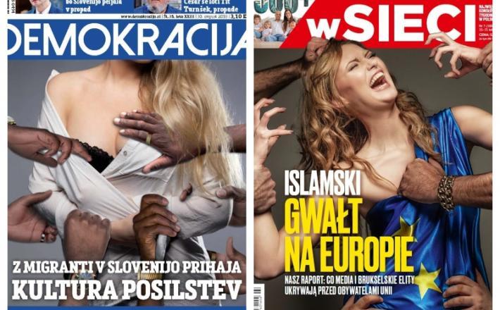 Naslovnice pravljičarjev iz Slovenije in Poljske