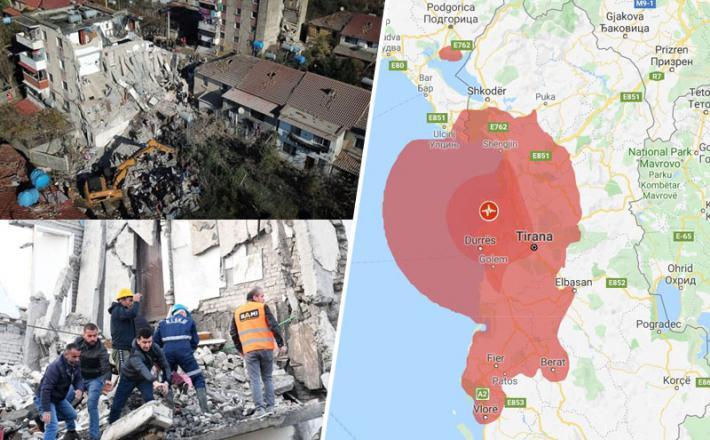 Potres v Albaniji
