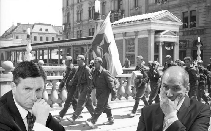 Bi bila leta 1945 z našima sedanjima voditeljema tako videti osvoboditev Ljubljane?