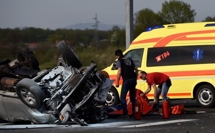 Prometna nesreča - predstavitvena fotografija