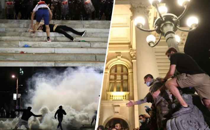 Koronaprotesti Beograd