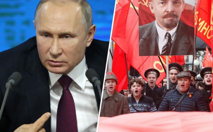 Putin in komunisti