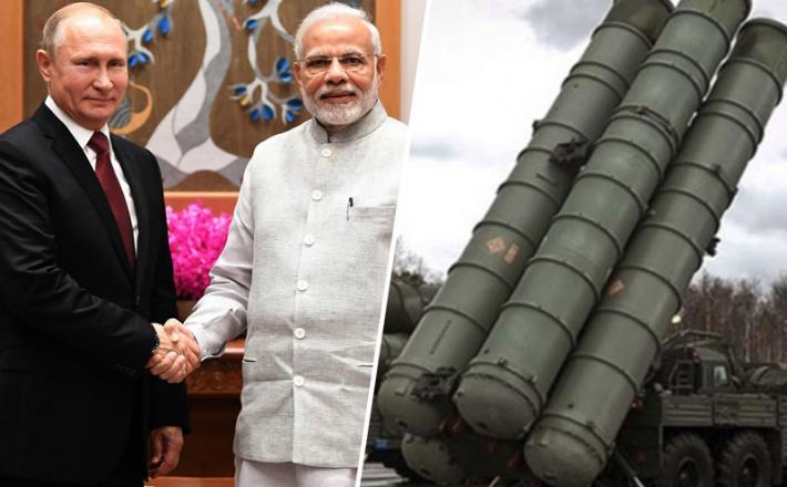 Putin, Modi in S-400