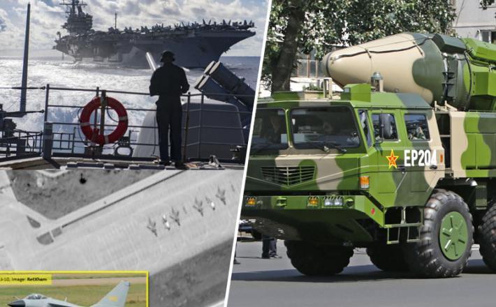 Kitajska - letalonosilke in rakete