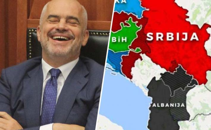 Rami se smeji zelo Velika Albanija