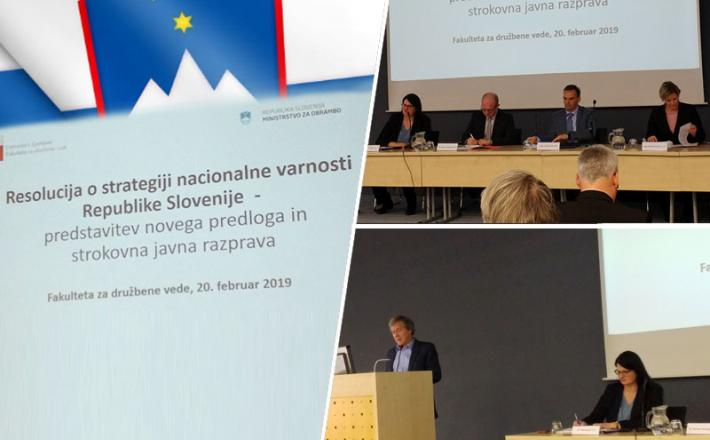 Resolucija o strategiji nacionalne varnosti Republike Slovenije