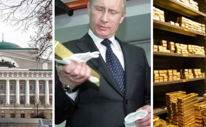 Zlato - Ruska centralna banka