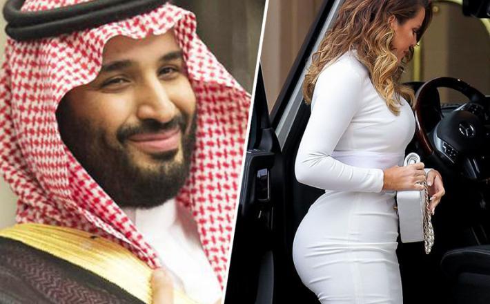 Mohamed bin Salman in predmet njegovega poželenja. Vir: Twitter