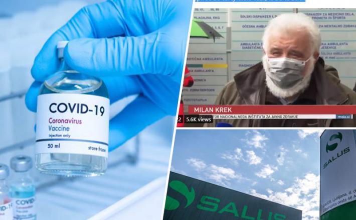 Salus - pomoč zunanjega izvajalca v škodo zdravstvene blagajne