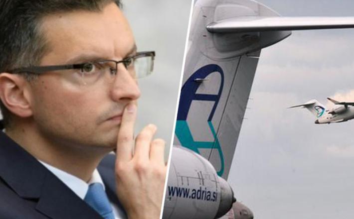 Marjan Šarec, Adria Airways