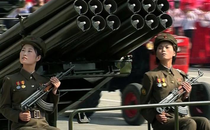Severna Koreja, vojakinje