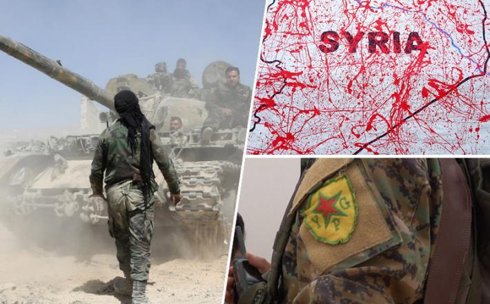 Sirija, SDF