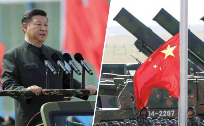Ši Džinping - Jinping in kitajski vojaki